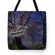 Dogwood Morning Tote Bag