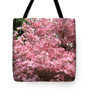 Dogwood Tree Flowers Art Prints Canvas Pink Dogwood Tote Bag
