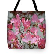 Dogwood Trees Flower Blossoms Art Baslee Troutman Tote Bag