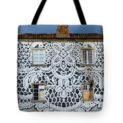 Doily House Tote Bag