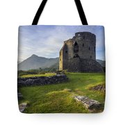 Dolbadarn Castle Tote Bag