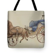 Doll Carriage Tote Bag