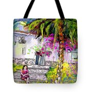 Doll House In Turre Tote Bag