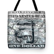 Dollar Submerged Tote Bag