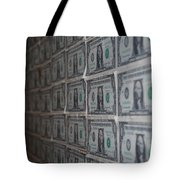 Dollars Tote Bag