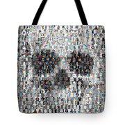 Dolls Skull Mosaic Tote Bag