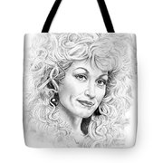 Dolly Parton Tote Bag