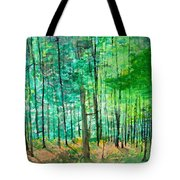 Dolly Sods Trees Tote Bag