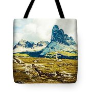 Dolomites, Monte Piana, Italy Tote Bag
