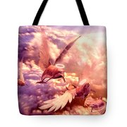 Dolphin Angels Tote Bag