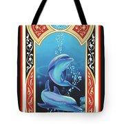 Dolphin Mecca Tote Bag