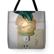 Dolphin Night Light Tote Bag