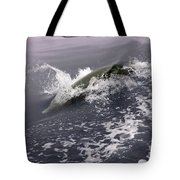 Runnin' Dolphin  Tote Bag