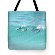 Dolphin Team Tote Bag