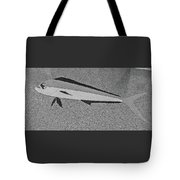 Dolphinfish In Grayscale Tote Bag