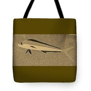 Dolphinfish In Sepia Tones Tote Bag