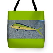 Dolphinfish Inlay On Alabama Welcome Center Floor Tote Bag