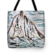 Dolphins Twitterpated Tote Bag
