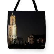 Dom Tower And Dom Church In Utrecht In The Evening 2 Tote Bag