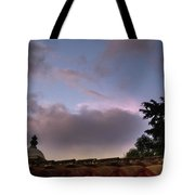 Dome And Clouds - Guatemala Iv Tote Bag