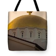 Dome And Cross At St Sophia Tote Bag