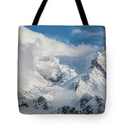 Dome Du Gouter In The Clouds Tote Bag