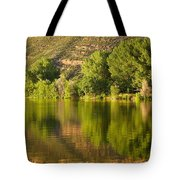 Dome Lake Sunset Tote Bag