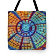 Dome Of Colors Tote Bag