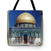 Dome Of The Rock Tote Bag