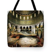 Dome Of The Rock, Jerusalem, 1862 Tote Bag