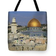 Dome Of The Rock Jerusalem Israel Tote Bag