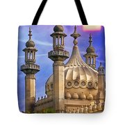 Domes In The Sunset Tote Bag