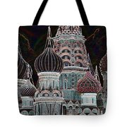 Domes Of St. Basil Cw Tote Bag