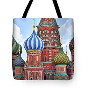 Domes Of St. Basil Tote Bag