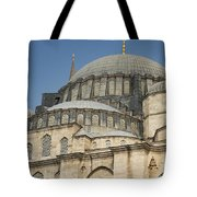 Domes Of Suleymaniye Mosque Tote Bag