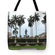 Dominating The Courtyard Tote Bag