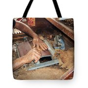 Dominican Cigars Made By Hand Tote Bag by Heather Kirk