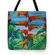 Dominican Heliconia Tote Bag