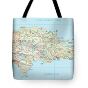 Dominican Republic 2 Tote Bag