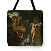 Dominique Ingres   Angelica Saved By Ruggiero Tote Bag