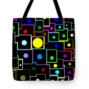 Domino Effect  Tote Bag