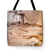 Don Quijote Windmills 06 Tote Bag