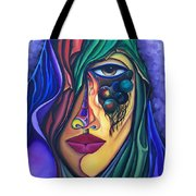 The Admirer - Scar Series 4 Tote Bag