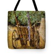 Donkey Cart Tote Bag