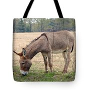 Donkey Finds Greener Grass Tote Bag