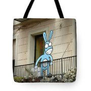 Donkey In The Placa Tote Bag