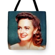Donna Reed By John Springfield Tote Bag