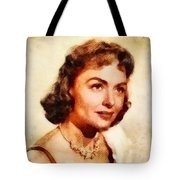 Donna Reed, Vintage Hollywood Actress Tote Bag