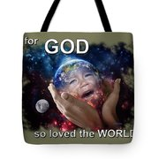 Don't Cry Little Earth Tote Bag