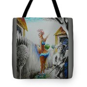 Don't Fence Me In Tote Bag